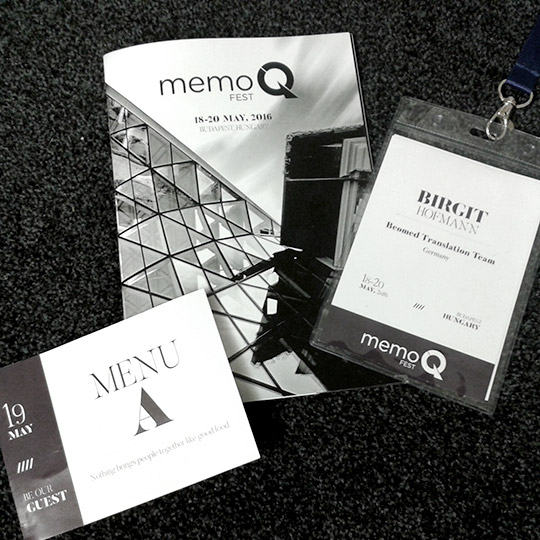 MemoQfest 2016 – Anwenderkonferenz in Ungarn