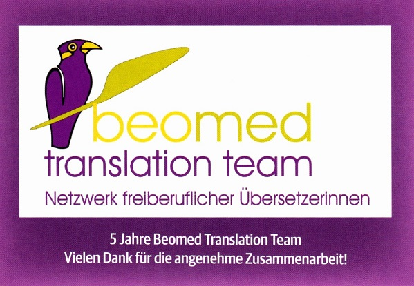 5 Jahre Beomed Translation Team