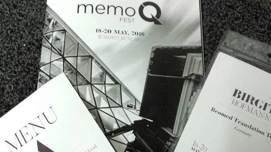 MemoQfest 2016