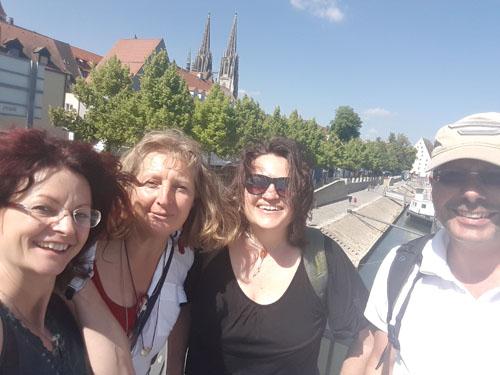 Das Beomed-Team mit Kollegen aus dem Allgäu
