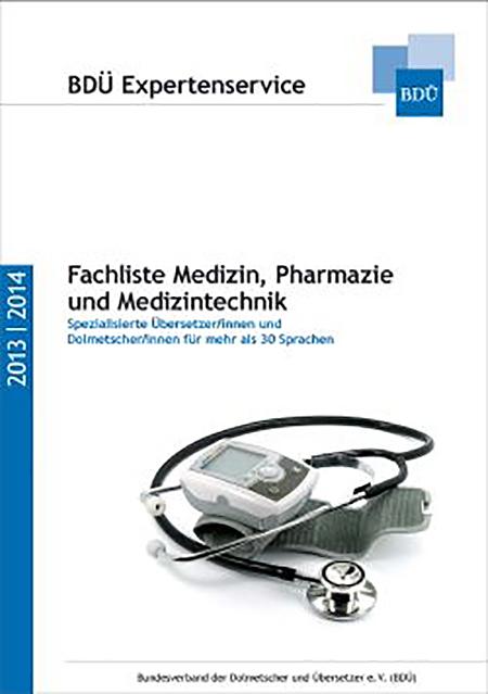 BDÜ Expertenservice 2013 / 2014